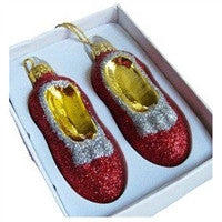 Christmas Pride Ruby Slipper Ornament