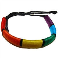 Gay Pride Tube Bracelet