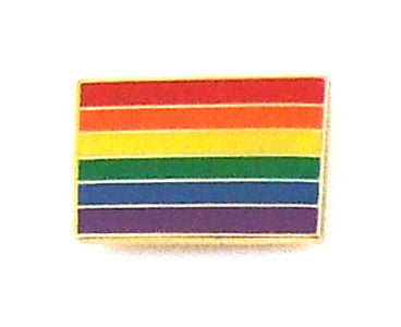 Rainbow Flag Lapel Pin