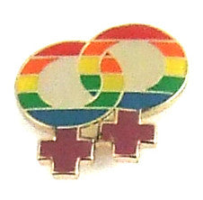 Double Venus Lapel Pin