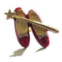 Ruby Slipper Lapel Pin or Tie Tac