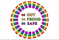 Magnet - Be Out Be Proud Be Safe