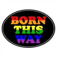 Euro Car Magnet - Born This Way