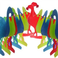 Gay Pride Flamingo Garland