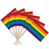Gay Pride Rainbow Toothpicks - 144 pk