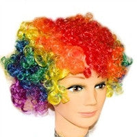 Gay Pride Curly Wig