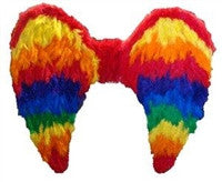 Gay Pride Feather Wings