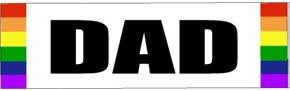 DAD Bumper Sticker