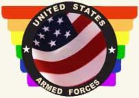 US Armed Forces with Rainbow Bumper Sticker