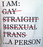 Short Sleeve Tee - I am a Person