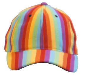 Rainbow Stripe Hat