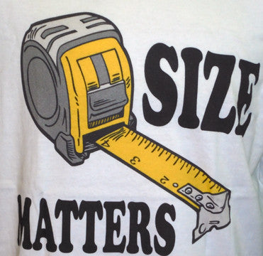 Short Sleeve Tee - Size Matters
