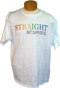 Short Sleeve Tee - Straight But Supportive