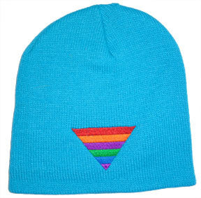Rainbow Triangle Beanie