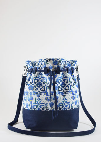 Janfive Studio - Bucket bag Floral Tile