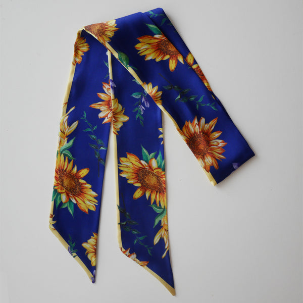 Janfive Studio Bow Knot Sunflower Navy