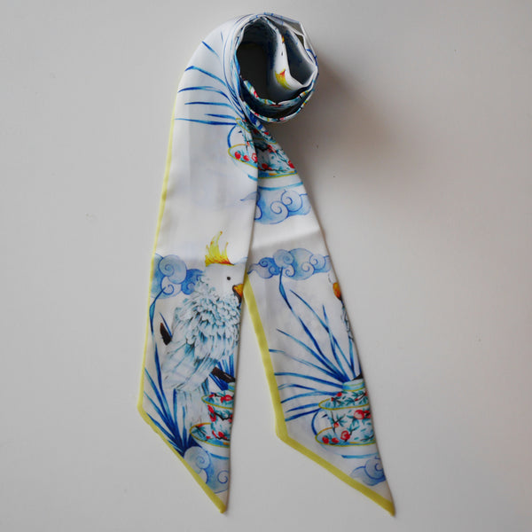 Bow Knot White Parrot
