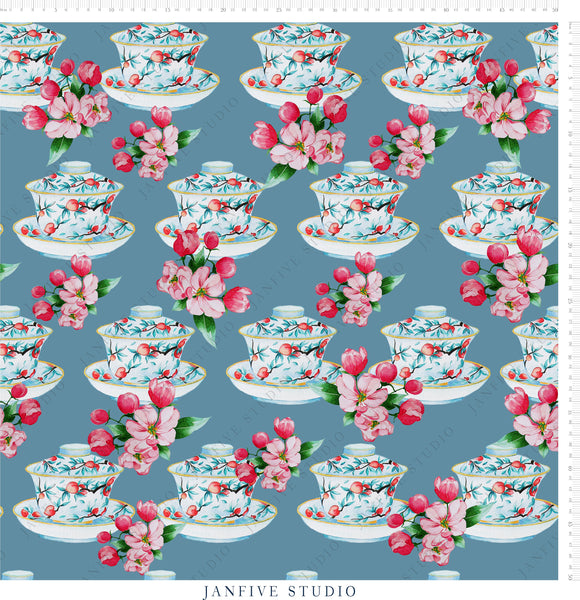 Janfive Studio Tea Cup Pattern