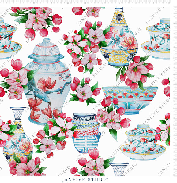 Janfive Studio Chinoiseries pattern