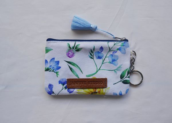 Janfive Studio Card & Coin Purse Annecy White