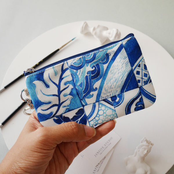 Janfive Studio Card & Coin Purse Azulejos