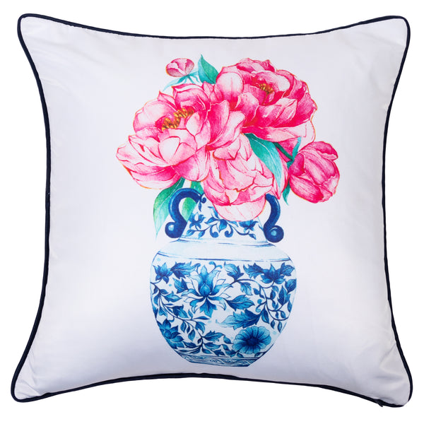Janfive Studio  - Cushion Ming & Peonies 1