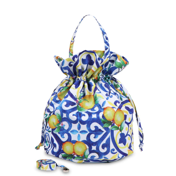 Janfive Studio - Drawstring Bag Lemons