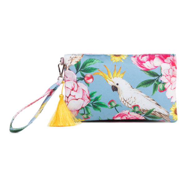 Janfive Studio - Clutch Bag Cockatoo