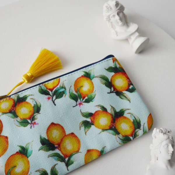 Card & Coin Purse Lemons