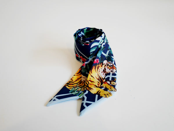 Janfive Studio Bow Knot Blue Jungle