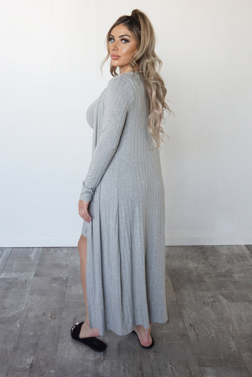 JACLYN SET - GREY