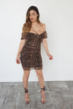 LEOPARD LOVIN DRESS - LuxxLook