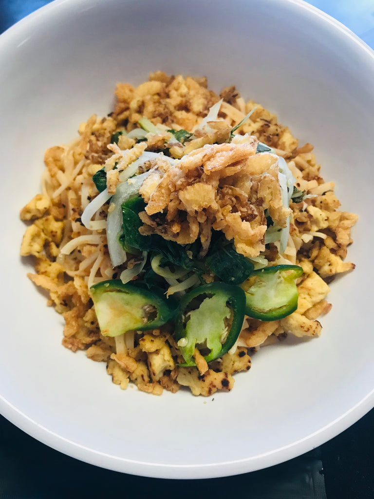 Tempeh Khao Soi with Baby Bok Choy