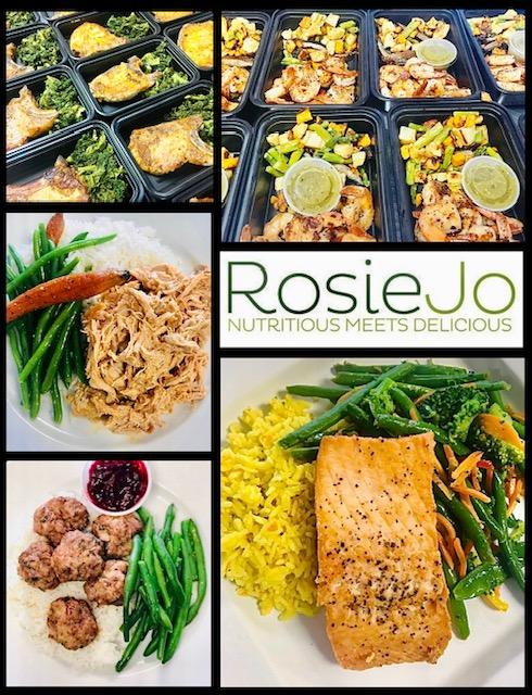 RosieJo Meals, fresh, nutritious