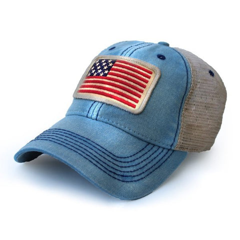 1812 Flag Cap in Americana Blue - State Legacy Revival