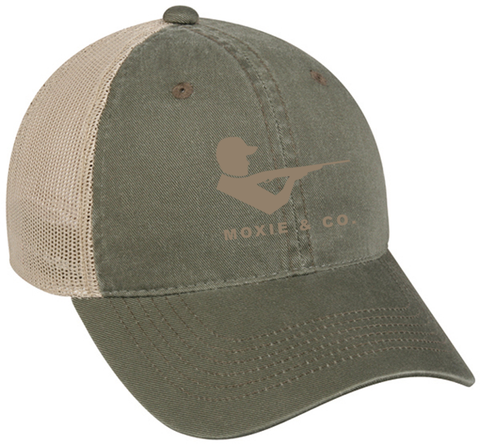 The Moxie Hat in Olive Green - Moxie & Co.