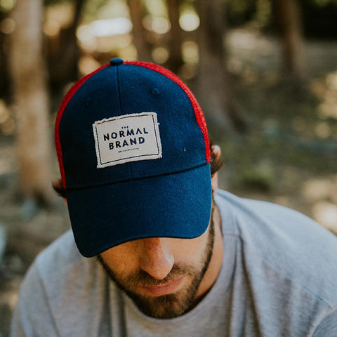 'The Senior' Trucker Hat - The Normal Brand
