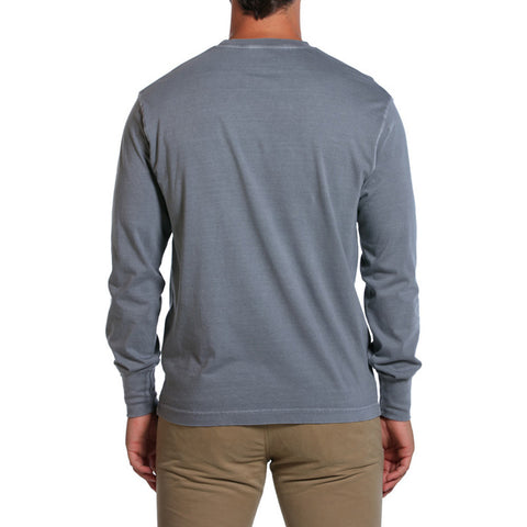 Long Sleeve Bear T in Grey - The Normal Brand