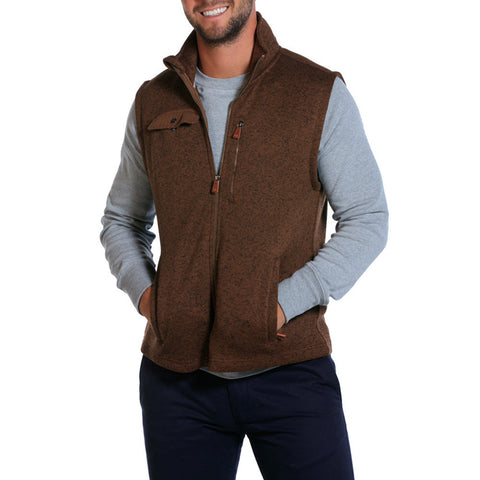 Lincoln Vest in Brown - The Normal Brand