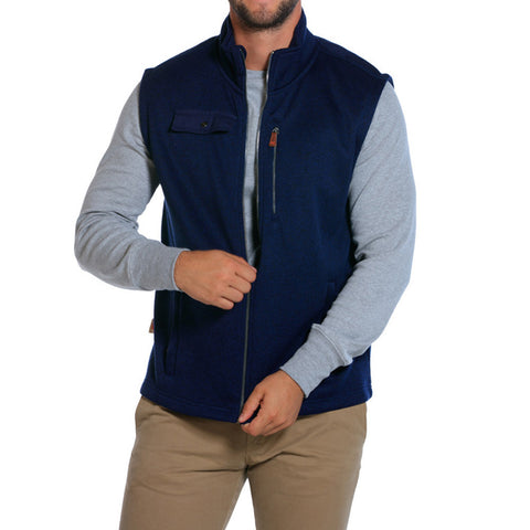 Lincoln Vest in Navy - The Normal Brand