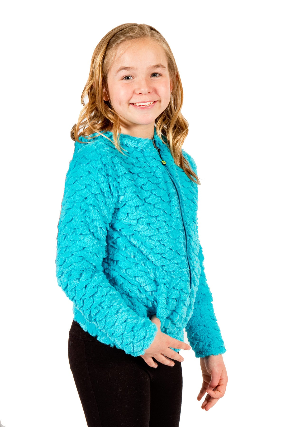 Pre Teens Swim Suit Bottom On Only Pictures: Cuddle Bubble Printed Minky Hoodie
