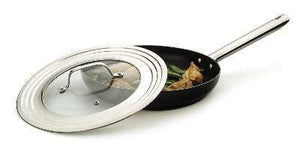 "Universal Lid with Glass Insert, 7"" - 12"""