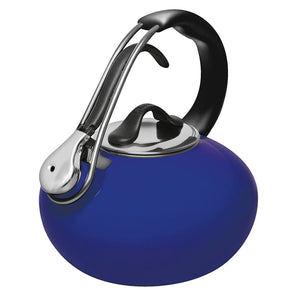Chantal Classic Enamel on Steel Loop Kettle, 1.8 qt., Indigo Blue