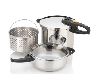 Fagor Duo Combi 5-Piece Pressure Cooker Set