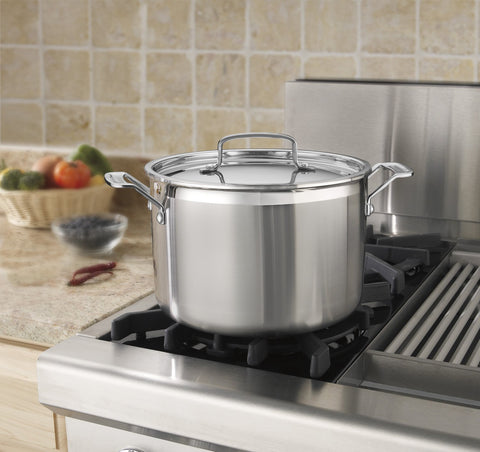 Cuisinart MultiClad Pro 8 qt. Stockpot with Lid
