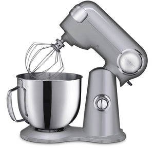 Cuisinart 5.5 qt. Stand Mixer, Brushed Chrome