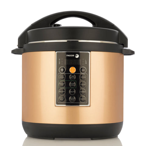 Fagor LUX Multicooker 6qt, Copper
