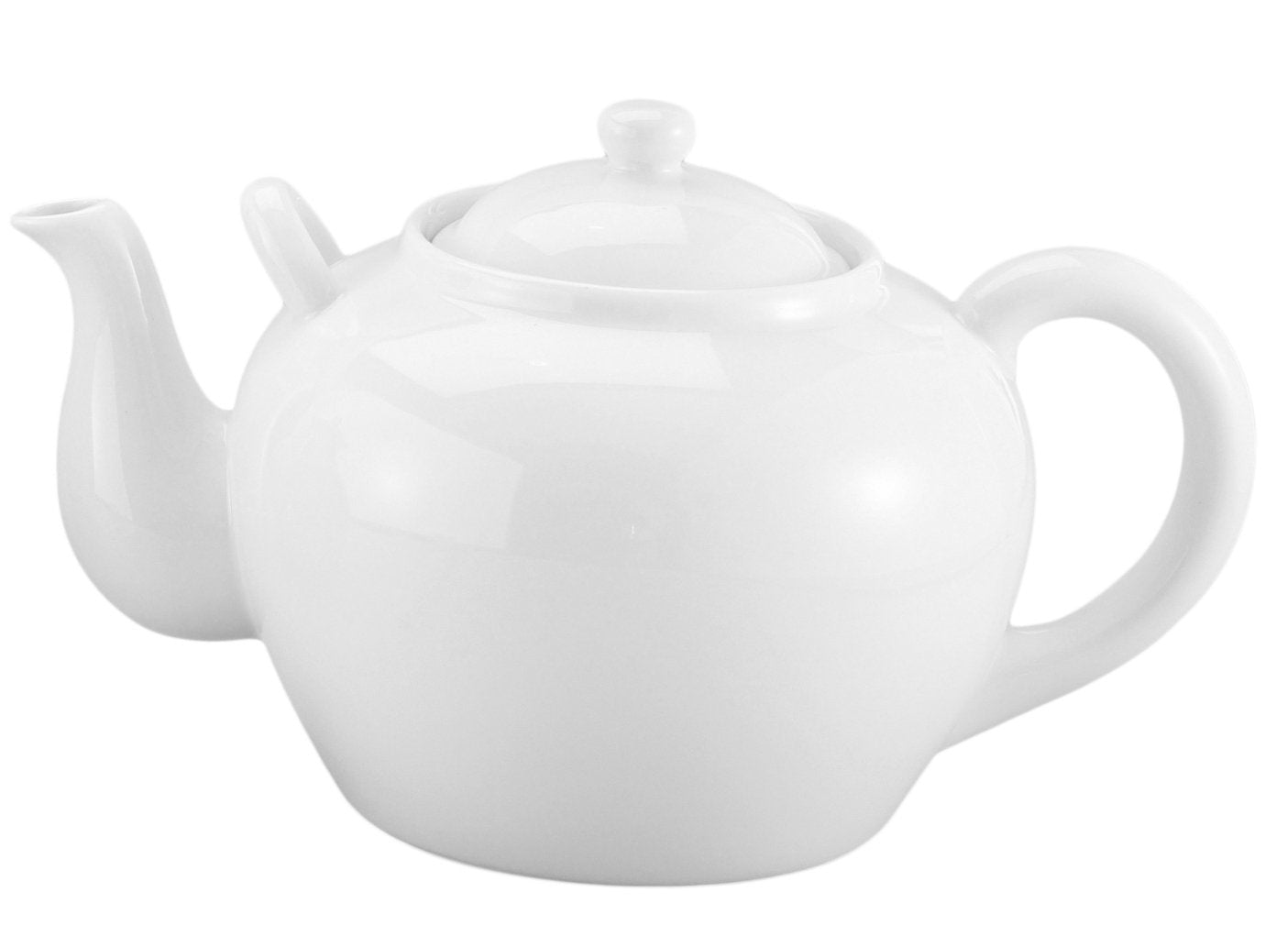Teapot, White, 12 Cup, 75oz