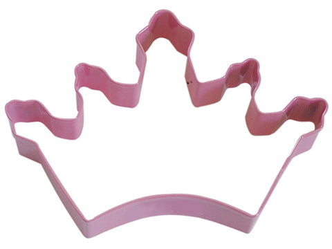 R&M Crown Cookie Cutter, Pink