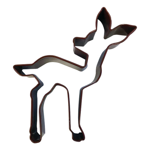 R&M Fawn Cookie Cutter, Brown